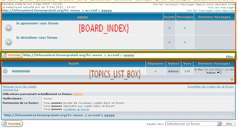 Comment faire pour que les sujets indépendants soient en première position par rapport aux forums ? Sans_t12