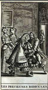"""18 novembre 1659: Première des """"Précieuses ridicules"""" 055_0011"""