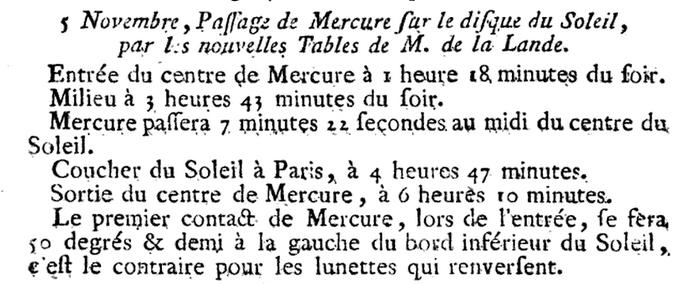 05 novembre 1789: Eclipse 1232