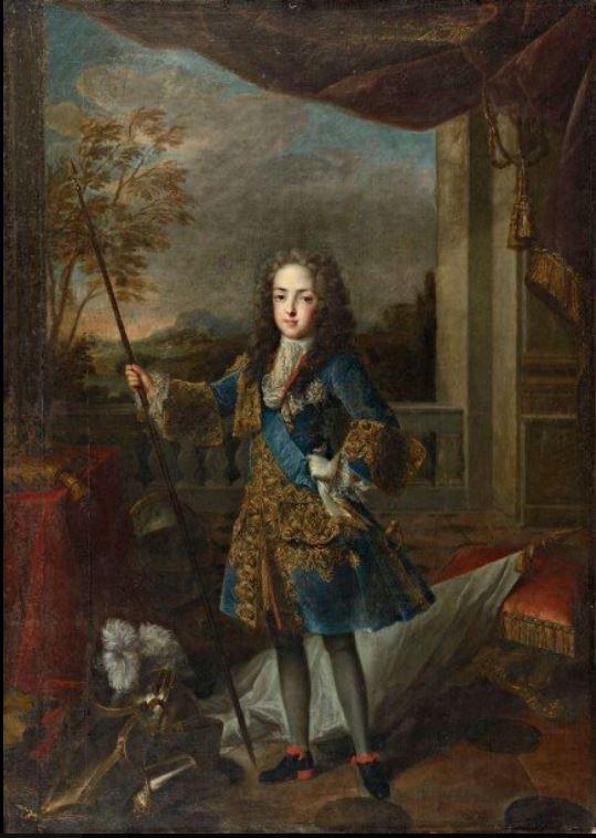 08 novembre 1722: Louis XV va au Palais Royal 1324