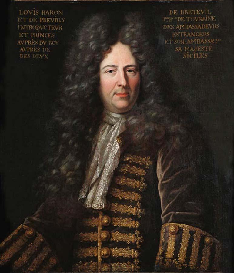 23 novembre 1698: Louis XIV donne, au baron de Breteuil, la charge d'Introducteur des Ambassadeurs  44201110