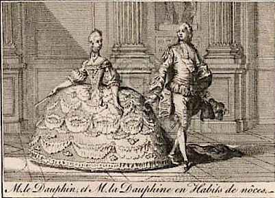 16 mai 1770: Mariage de Marie-Antoinette d'Autriche avec le futur Louis XVI Capt1188