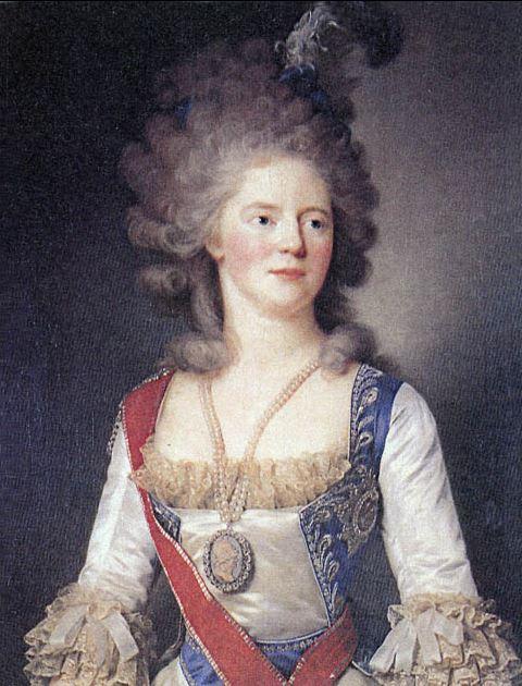 18 Mai 1782: visite de Paul Ier de Russie Capt1438