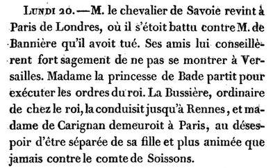 20 novembre 1684: Capt1760