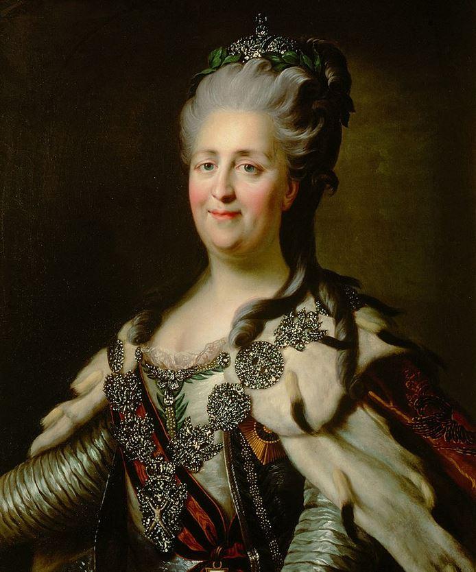 09 juillet 1762: Catherine II impératrice de Russie