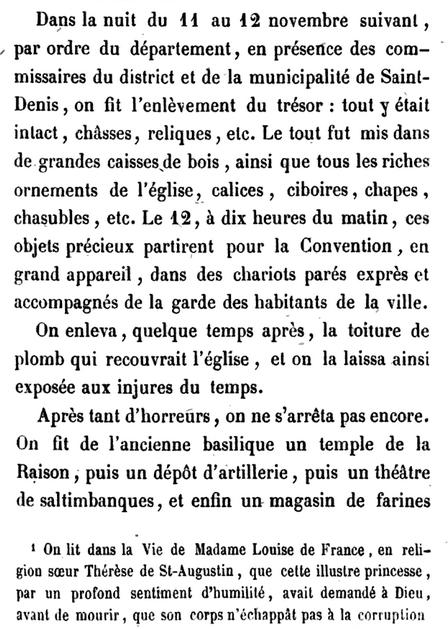 11 novembre 1793: Basilique royale de Saint-Denis Captu548