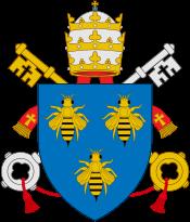 28 novembre 1633: Liste des cardinaux créés par Urbain VIII Coat_o25