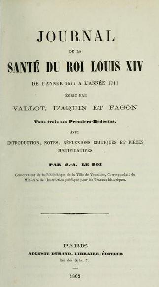 13 novembre 1647: Santé du Roi Cture20