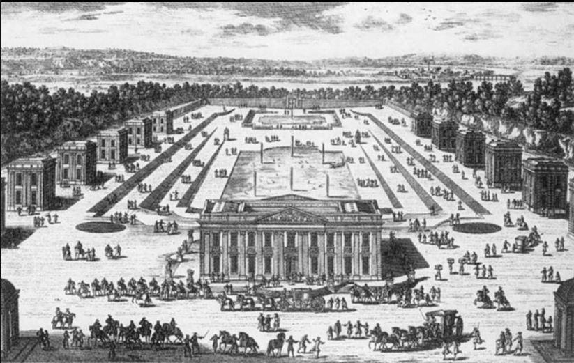 Marly - 19 juillet 1703: Louis XIV va, l'après-midi, se promener à Marly D_1clv14