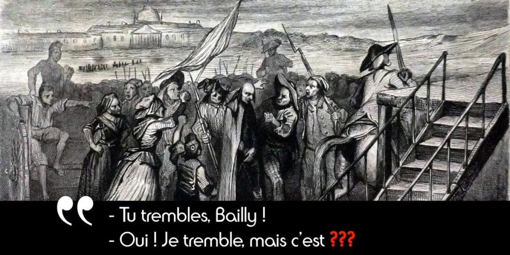 12 novembre 1793: Bailly est à son tour guillotiné Dlnkve10