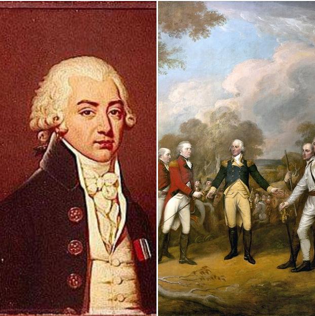 20 novembre 1781: Le duc de Lauzun et Guillaume de Deux-Ponts E10