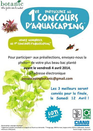 1er Concours aquascaping Botanic Epinal 10153110