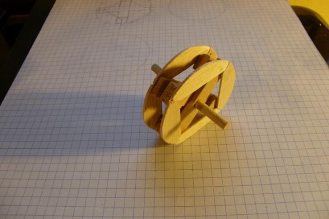Roue de moulin à aubes 10_axe10