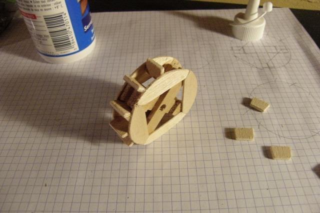 Roue de moulin à aubes 14_pos10