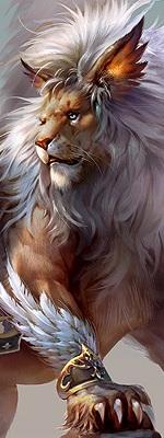 Création de Créatures Lion_b13