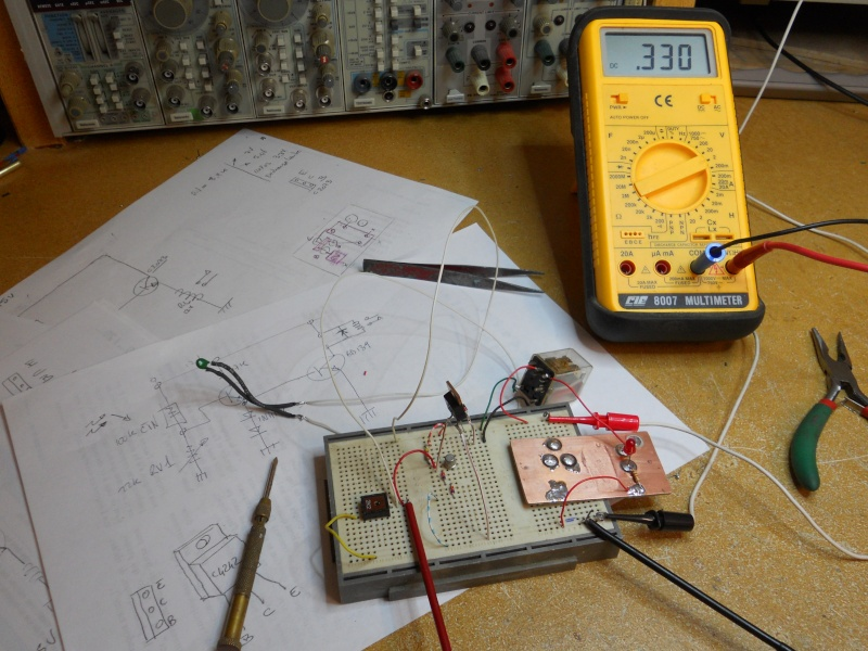 Construction d'une mini VMC Ch410