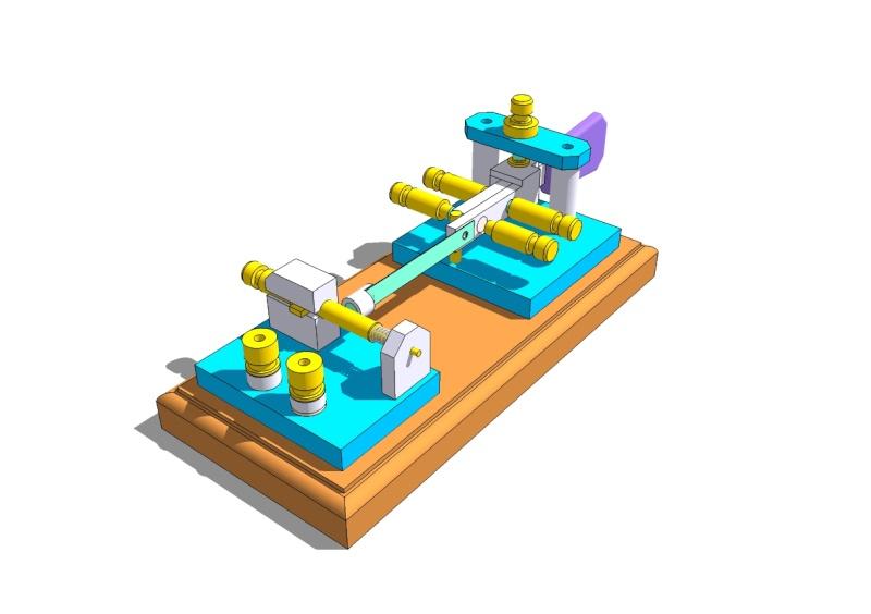 Etude et construction d'un manipulateur morse semi-automatique Vb4_qr17