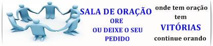 PEDIDOS DE ORAÇÃO E ACONSELHAMENTO.