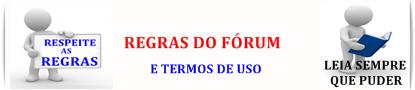 REGRAS DO FÓRUM
