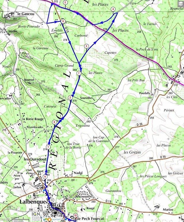 6ème édition 10km du Diamant Noir 2014 : infos Circui10