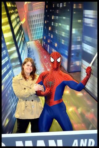 Elsa et Spiderman datant