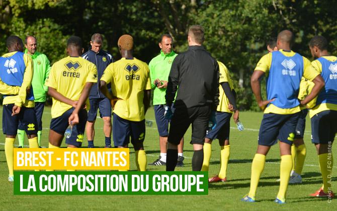 BREST / FC NANTES en amical vendredi 11 OCTOBRE 2013 à LOCMINE 18H00 : 0-4 Groupe10