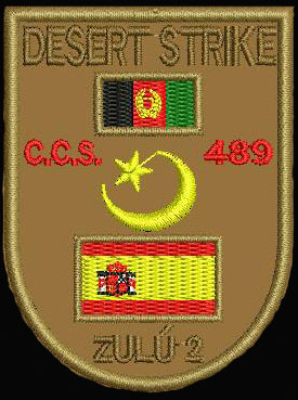Parches Desert Strike zulú 2 Granja13