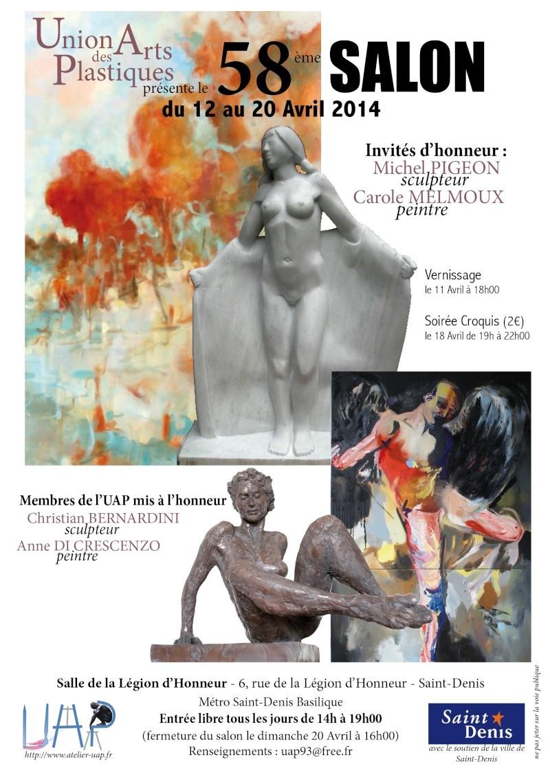 58eme salon artistique de SaInt-denis Affich10