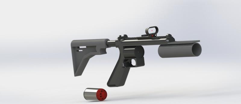 Lance grenade Solid Works Lanceg13