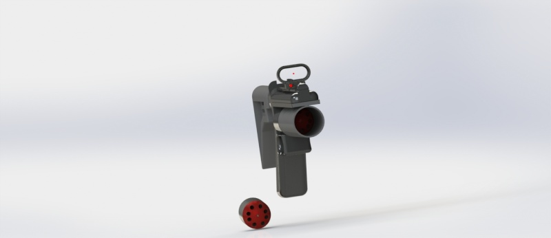 Lance grenade Solid Works Lanceg14