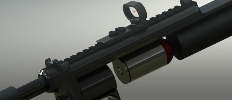Lance grenade Solid Works Lanceg15