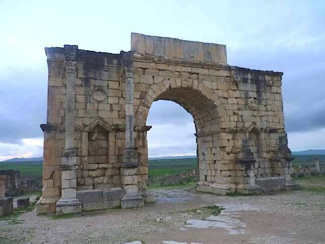 LA CITE ANTIQUE de VOLUBILIS (Maroc) Volubi12