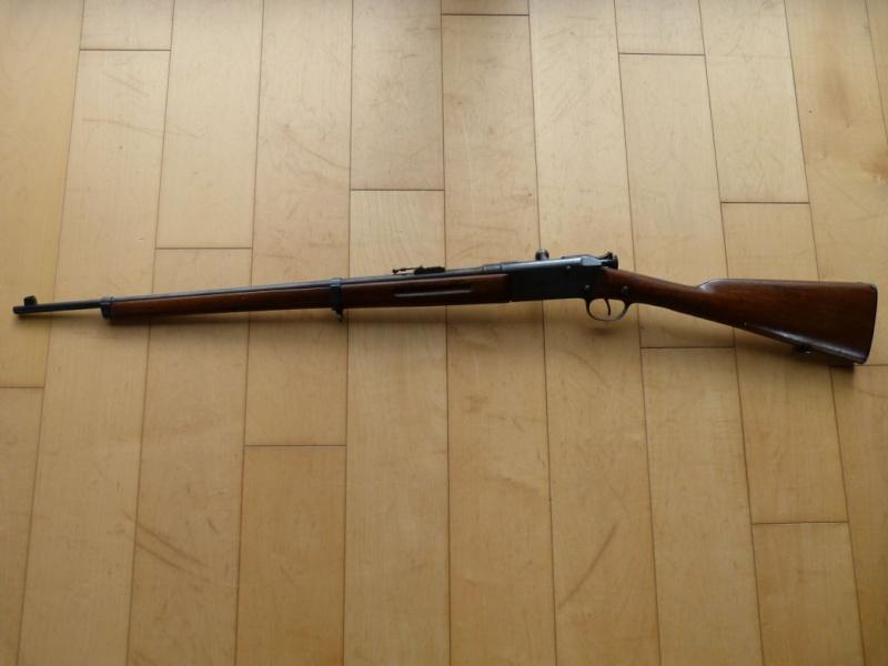 Identification et estimation d'une carabine Lebel scolaire. Carabi13