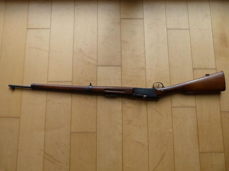 Identification et estimation d'une carabine Lebel scolaire. Carabi14