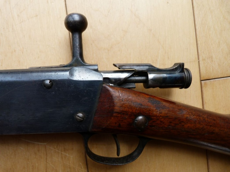Identification et estimation d'une carabine Lebel scolaire. Carabi24