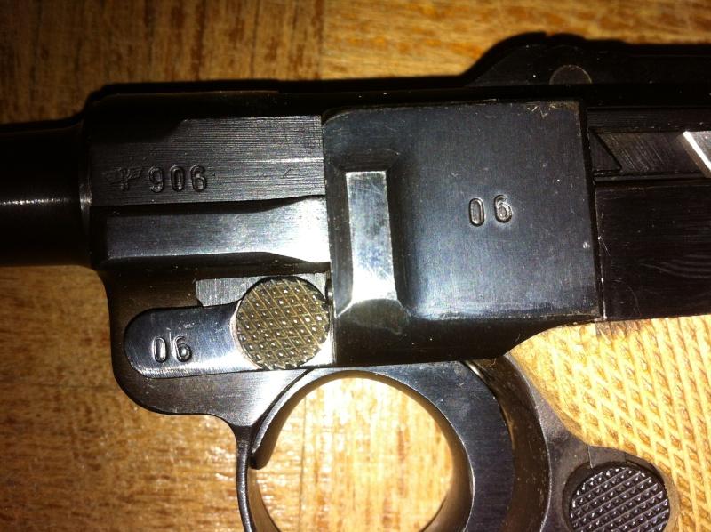 Réflexions sur la production de pistolets Luger P 08, par Mauser, en 1945-1946. - Page 2 Mauser30