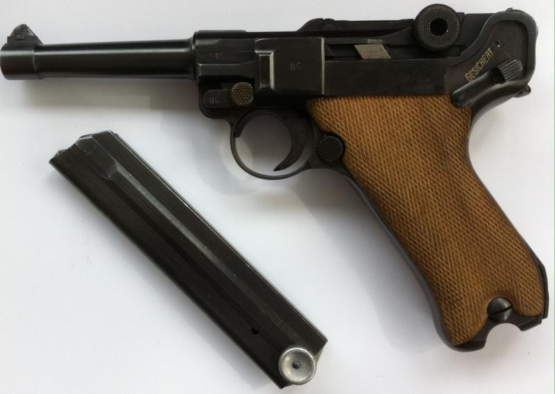 Réflexions sur la production de pistolets Luger P 08, par Mauser, en 1945-1946. - Page 2 Mauser31