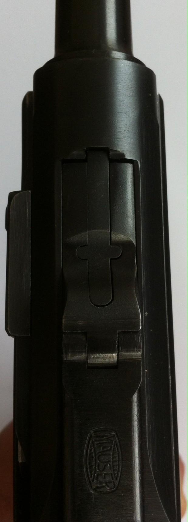 Réflexions sur la production de pistolets Luger P 08, par Mauser, en 1945-1946. - Page 2 Mauser35