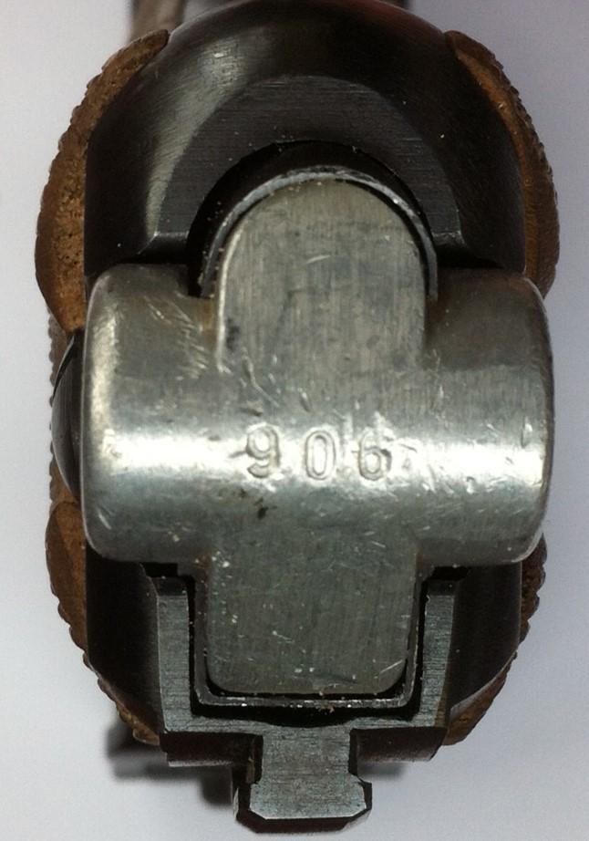 Réflexions sur la production de pistolets Luger P 08, par Mauser, en 1945-1946. - Page 2 Mauser36