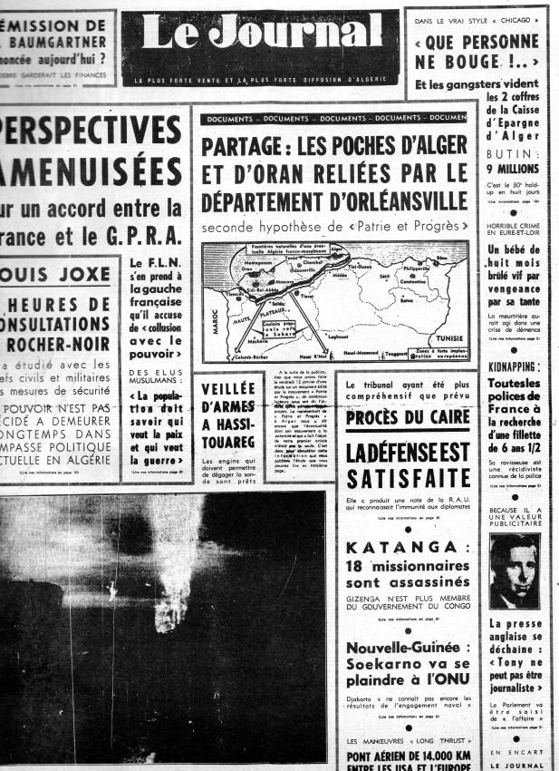 ALGERIE PRESSE JANVIER 1962 -2 ème et 3 ème parties 157