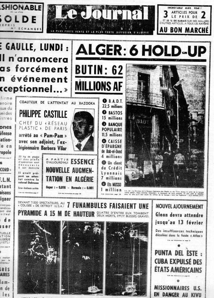 ALGERIE PRESSE FEVRIER 1962 172