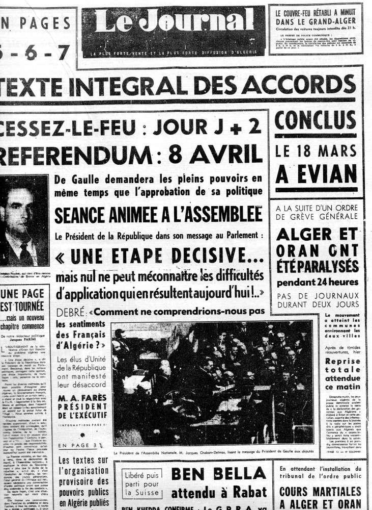 ALGERIE PRESSE MARS 1962 178