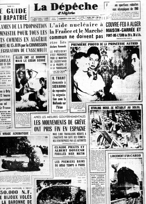 ALGERIE PRESSE JUIN 1962  198