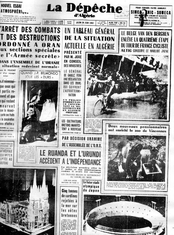 ALGERIE PRESSE JUIN 1962  199