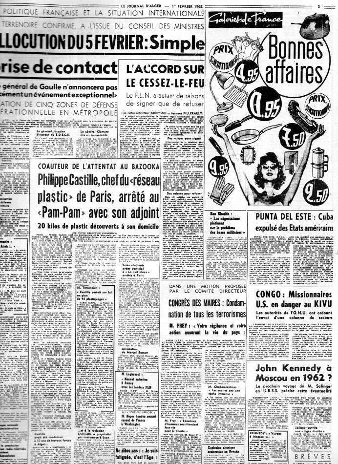 ALGERIE PRESSE FEVRIER 1962 261