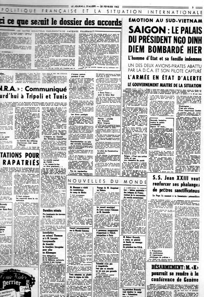 ALGERIE PRESSE FEVRIER 1962 (suite et fin) 263