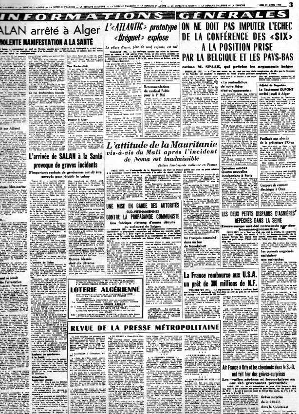 ALGERIE PRESSE AVRIL 1962 277