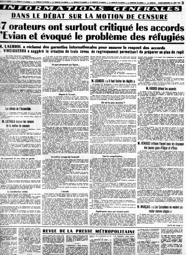 ALGERIE PRESSE JUIN 1962  278