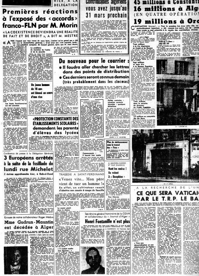 ALGERIE PRESSE FEVRIER 1962 (suite et fin) 345