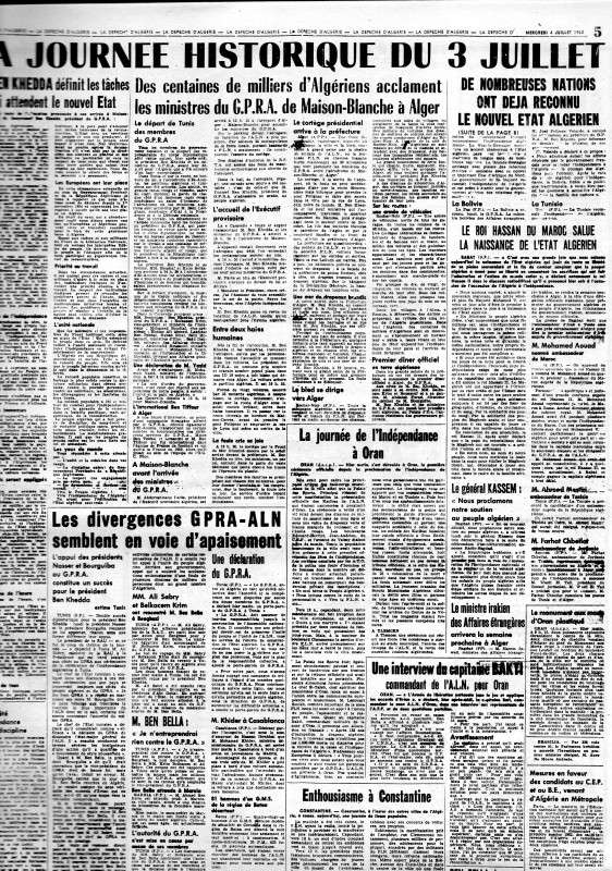 ALGERIE PRESSE JUIN 1962 suite et fin 354